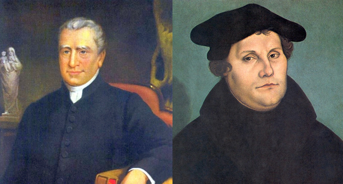 Edmund Rice and Martin Luther